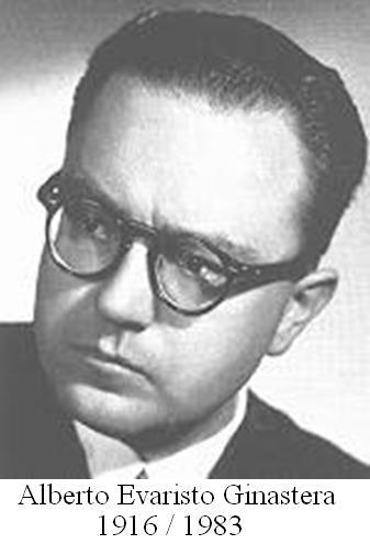 Alberto Evaristo Ginastera